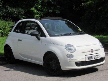 2011 FIAT 500 0.9 C TWINAIR 3d 85 BHP £5150.00