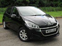 USED 2016 65 PEUGEOT 208 1.2 ACTIVE 5d 82 BHP LOW MILEAGE HATCHBACK CAR
