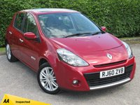 USED 2011 60 RENAULT CLIO 1.5 INITIALE TOMTOM DCI FAP 5d * FULL LEATHER INTERIOR * DUAL SUNROOFS * 6 SPEED GEARBOX *