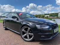 USED 2013 63 AUDI A4 2.0 AVANT TDI BLACK EDITION 5d 174 BHP **FANTASTIC SPECIFICATION**