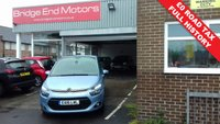 USED 2016 16 CITROEN C4 PICASSO 1.6 BLUEHDI VTR PLUS EAT6 5d AUTO 118 BHP ONLY 7658 MILES FROM NEW WITH FULL CITROEN SERVICE HISTORY £ZERO ROAD TAX ALLOYS PARKING SENSORS AUX/ USB SOCKET CRUISE CONTROL MEETS CURRENT LARGE CITY EMISSION STANDARDS