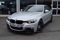 2014 BMW 3 SERIES 3.0 330D M SPORT 4d AUTO 255 BHP £16490.00