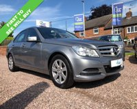 USED 2012 62 MERCEDES-BENZ C CLASS 1.6 C180 BLUEEFFICIENCY EXECUTIVE SE 4d 154 BHP