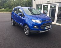 USED 2016 66 FORD ECOSPORT 1.5 TDCI TITANIUM 95 BHP THIS VEHICLE IS AT SITE 2 - TO VIEW CALL US ON 01903 323333