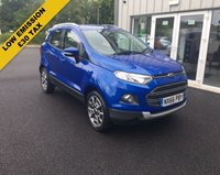 USED 2016 66 FORD ECOSPORT 1.5 TDCI TITANIUM 95 BHP THIS VEHICLE IS AT SITE 1 - TO VIEW CALL US ON 01903 892224