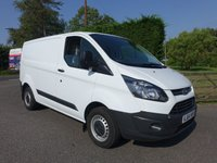 USED 2015 64 FORD TRANSIT CUSTOM 270 L1 SWB 2.2TDCI 100 BHP Direct From Leasing Company With Full Service History! Been Used As Appliance Service Van Very Clean Condition Inside And Out!