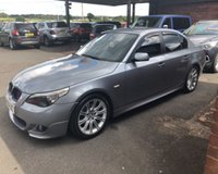 USED 2005 55 BMW 5 SERIES 2.5 525D M SPORT 4d AUTO 175 BHP AUTO AUTOMATIC DIESEL, 82K MILES