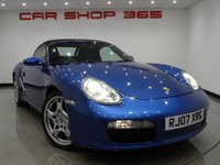 "USED 2007 07 PORSCHE BOXSTER 987 2.7 24V (245 bhp)..NAV..HEATED LEATHERS..PARK AID 19""+PARK AID+NAVIGATION+HEATED LEATHER+CLIMATE+BOSE"