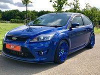 USED 2008 08 FORD FOCUS 2.5 ST-3 MODIFIED UPGRADED 334 BHP 3DR HATCH BACK +BOLA B8 WHEELS+NEW RS CLUTCH+