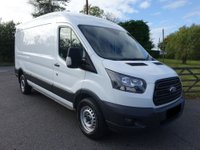 USED 2017 17 FORD TRANSIT 350 L3 H2 LWB MEDIUM HIGHTOP 2.0TDCI 170 BHP EURO 6 Direct From Leasing Company With F/S/History & Warranty Till 08/20, Higher Specification Model With Popular 170 BHP Engine And Full Sortimo Internal Racking System & Air Con!