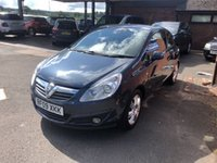 USED 2009 09 VAUXHALL CORSA 1.2 DESIGN 16V 3d 80 BHP ONE OWNER, ONLY 58K MILES