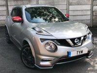 USED 2018 02 NISSAN JUKE 0.0 NISMO RS DIG-T 5d 215 BHP