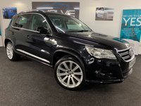 USED 2010 10 VOLKSWAGEN TIGUAN 2.0 R LINE TDI 4MOTION 5d 170 BHP IMMACULATE, F/S/H, LEATHER!!