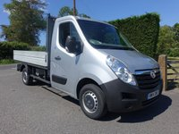 USED 2014 14 VAUXHALL MOVANO F3500 L2 MWB DROPSIDE 2.3 CDTI 125 BHP Direct From Leasing Company With Low Mileage And Service History! Extras Include Air Con, E/W & Alloy Dropside Body! Very Clean Example!