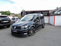 2017 VOLKSWAGEN CADDY 2.0 C20 TDI HIGHLINE **ONE OF A KIND** £16495.00