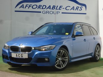 2015 BMW 3 SERIES 2.0 325D M SPORT TOURING 5d AUTO 215 BHP £11950.00
