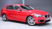 USED 2016 65 BMW 1 SERIES 118D SPORT 5d AUTO 147 BHP