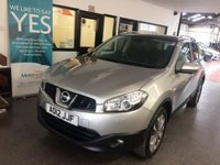 USED 2012 12 NISSAN QASHQAI 1.6 TEKNA IS 5d 117 BHP This petrol powered Qashqai Tekna is finished in metallic silver with Black leather heated seats. It is fitted with panoramic roof, power steering, remote locking, electric windows and mirrors with power fold, climate control, cruise control, panoramic roof, 360 parking camera, Nissan Satellite Navigation, Bluetooth,start stop, two tone alloy wheels, CD Stereo with Aux & USB ports and more. It comes with an excellent service history with receipts and service book stamps.