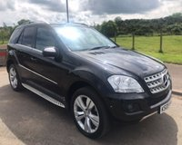 USED 2009 09 MERCEDES-BENZ M CLASS 3.0 CDI ML320 4x4 SPORT SAT NAV 5d AUTO 222 BHP 6 MONTHS PARTS+ LABOUR WARRANTY+AA COVER