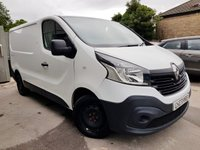 USED 2015 15 RENAULT TRAFIC 1.6 SL27 BUSINESS DCI S/R P/V 1d + SERVICE HISTORY + VAT