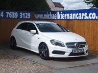 2013 MERCEDES-BENZ A CLASS 2.0 A250 BLUEEFFICIENCY ENGINEERED BY AMG 5d AUTO 211 BHP £14995.00