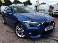 USED 2016 16 BMW 1 SERIES 1.5 118I M SPORT 3d 134 BHP 1 OWNER FSH NEW MOT  FREE 6 MONTH AA WARRANTY INCLUDING RECOVERY AND ASSIST NEW MOT SATELLITE NAVIGATION CLIMATE CONTROL BLUETOOTH SPARE KEY ELECTRIC WINDOWS AND MIRRORS ECO PRO 6 SPEED