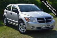 USED 2006 56 DODGE CALIBER 2.0 SXT 5d AUTO 155 BHP