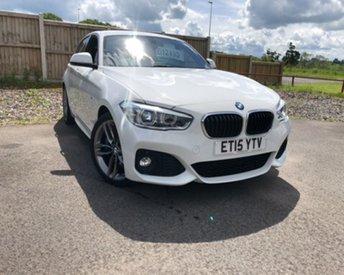 2015 BMW 1 SERIES 2.0 118D M SPORT 5d 147 BHP £12495.00