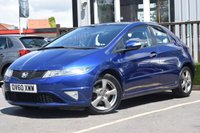 USED 2010 60 HONDA CIVIC 1.3 I-VTEC SI 5d 98 BHP Service History With New Mot