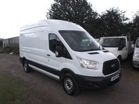 2015 FORD TRANSIT T350 L3 H3 Rear wheel drive 155 bhp, Air Con No side load doors £8499.00
