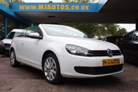 USED 2015 15 VOLKSWAGEN GOLF 1.6 SE TDI BLUEMOTION TECHNOLOGY CABRIOLET 104 BHP NEED FINANCE??? APPLY WITH US!!!