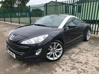 2011 PEUGEOT RCZ 2.0 HDI GT 2d 163 BHP ALLOYS SATNAV LEATHER CRUISE FSH PRIVACY A/C MOT 06/20 £5990.00