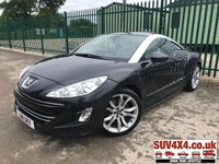USED 2011 11 PEUGEOT RCZ 2.0 HDI GT 2d 163 BHP ALLOYS SATNAV LEATHER CRUISE FSH PRIVACY A/C MOT 06/20 NOW SOLD.