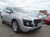 2012 PEUGEOT 3008 1.6 ACTIVE HDI FAP GRADE 1 OWNER VEHICLE  £3500.00