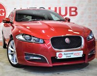 USED 2013 63 JAGUAR XF 2.2 D R-SPORT SPORTBRAKE 5 Door AUTO Estate 200 BHP
