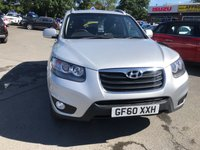 USED 2010 60 HYUNDAI SANTA FE 2.2 PREMIUM CRDI 5d 194 BHP IN METALLIC SILVER WITH SERVICE HISTORY APPROVED CARS ARE PLEASED TO OFFER THIS HYUNDAI SANTA FE 2.2 PREMIUM CRDI 5 DOOR 194 BHP IN METALLIC SILVER WITH GOOD SERVICE HISTORY AND GOOD SPEC INCLUDING SEVEN SEATS,LEATHER SEATS,AIR CON,ALLOYS AND MUCH MORE AND AT A VERY SENSIBLE PRICE.