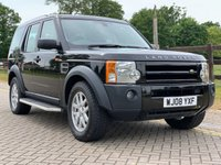 USED 2008 08 LAND ROVER DISCOVERY 2.7 3 TDV6 XS 5d AUTO 188 BHP