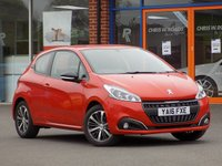 USED 2016 16 PEUGEOT 208 1.2 PureTech XS White 3dr ** Bluetooth + Cruise + DAB **