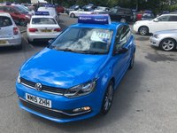 USED 2015 15 VOLKSWAGEN POLO 1.4 SE DESIGN TDI BLUEMOTION 3d 75 BHP IN BLUE WITH 55000 MILES AND ONLY ONE OWNER WITH FULL SERVICE HISTORY. APPROVED CARS ARE PLEASED TO OFFER THIS VOLKSWAGEN POLO 1.4 SE DESIGN TDI BLUEMOTION 3d 75 BHP IN BLUE WITH 55000 MILES IN A SOLID BLUE WITH  A DAB RADIO,ALLOY WHEELS,CENTRAL LOCKING,AIR CON AND MUCH MORE WITH A FULL SERVICE HISTORY A TRULY GREAT LOOKING AND DRIVING ECONOMICAL POLO.