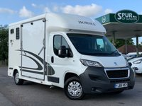 USED 2016 66 PEUGEOT BOXER EQUI-TREK SONIC HORSE BOX 2.2 HDI 335 L3 F/C 1d 150 BHP NO VAT, Only 2,900 Miles Yes Only 2,900 Miles, NO VAT