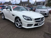 USED 2013 13 MERCEDES-BENZ SLK 2.1 SLK250 CDI BLUEEFFICIENCY AMG SPORT 2d AUTO 204 BHP VERY LOW MILEAGE FULL SERVICE HISTORY , 1FAMILY OWNER, £10,000 IN EXTRAS,PEARL METTALIC PAINT ,MUST BE SEEN