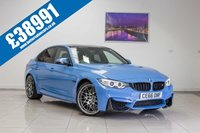 2016 BMW M3 3.0 M3 COMPETITION PACKAGE 4d AUTO 444 BHP £38991.00