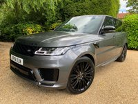 USED 2018 18 LAND ROVER RANGE ROVER SPORT 3.0 SDV6 AUTOBIOGRAPHY DYNAMIC 5d AUTO 306 BHP BLACK PACK + 7 SEATS