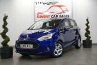 USED 2016 16 FORD B-MAX 1.6 ZETEC 5d AUTO 104 BHP GOOD SPEC, LOW MILES, GREAT COLOUR