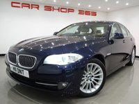 2010 BMW 5 SERIES 3.0 530D (245 bhp) SE 4dr AUTO..NAV..LEATHER..HIGH SPEC !! £8750.00