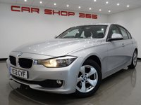 2012 BMW 3 SERIES 2.0 320D (163 bhp) EFFICIENTDYNAMICS BLUEPERFORMANCE 4dr AUTO..NAV..LEATHER £9750.00