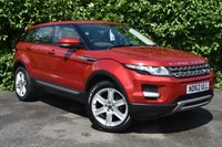 USED 2012 62 LAND ROVER RANGE ROVER EVOQUE 2.2 TD4 PURE TECH 5d 150 BHP PANROOF 19in ALLOYS