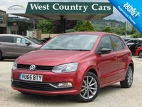 USED 2015 65 VOLKSWAGEN POLO 1.2 SE DESIGN TSI 5d 90 BHP Full Volkswagen Service History