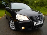USED 2010 59 VOLKSWAGEN POLO 1.2 MATCH 5d 59 BHP **ONE OWNER FROM NEW**LOW MILEAGE**LOW TAX**LOW INSURANCE**