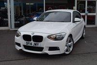 2014 BMW 1 SERIES 2.0 118D M SPORT 3d 141 BHP £9750.00
